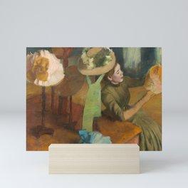Edgar Degas - The Millinery Shop Mini Art Print