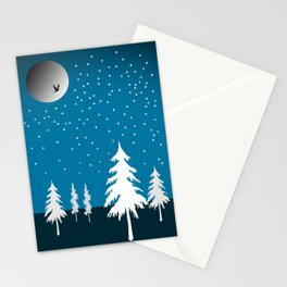 Starflakes - Winter Stationery Cards