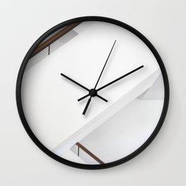 Minimal Staircase Wall Clock