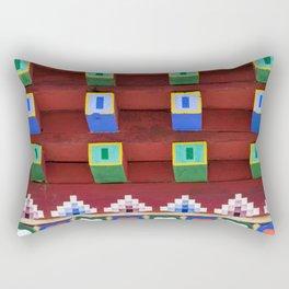 Color blocks Rectangular Pillow
