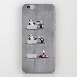 Eating Habits of the Panda iPhone Skin