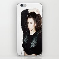 charli xcx iPhone & iPod Skins featuring What I Like ~ Charli xcx by Michelle Rosario