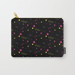 80s are The New Black - Pattern #0 Carry-All Pouch