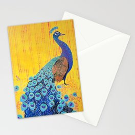 Peacock - Brave Stationery Cards