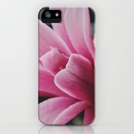 Pink flower by Giada Ciotola iPhone Case