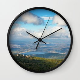 The Pilgrims Wall Clock