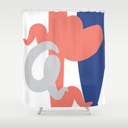 Made in Atl Shower Curtain