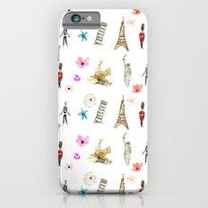 Travelling Fleur iPhone 6s Slim Case