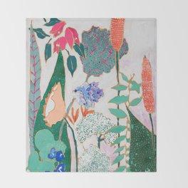 Speckled Garden Throw Blanket