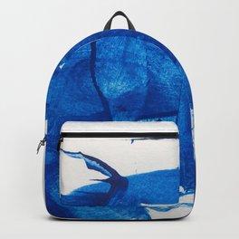 The blue goddess Backpack