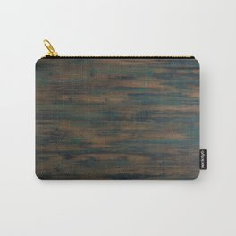 Beautifully patterned stained wood Carry-All Pouch