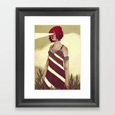To be a Beacon Framed Art Print