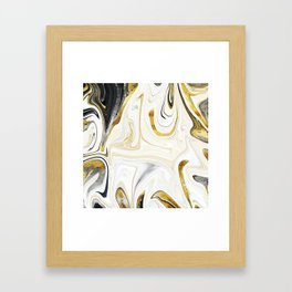 Metalsmith Latte Framed Art Print