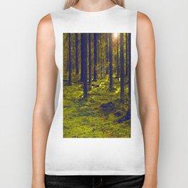 Green Forest #decor #society6 Biker Tank