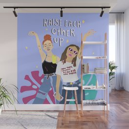 Celebrate your friends Wall Mural