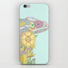 chameleon pastel mint iPhone & iPod Skin