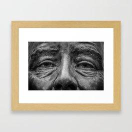 Eyes of FDR Framed Art Print