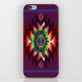 southwest dream in wine iPhone Skin