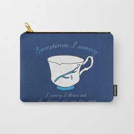 Belle's Chipped Cup Carry-All Pouch