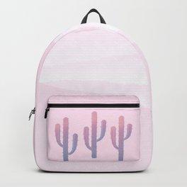 Dreamy Pastel Cacti Design Backpack