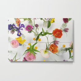 Spring Flowers - JUSTART (c) Metal Print