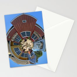 Planet Oxnard Harbor Houses In Oxnard Stationery Cards