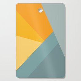 Abstract Mountain Sunrise Cutting Board