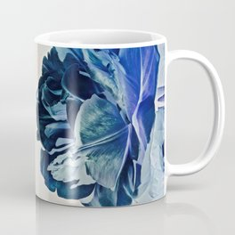Blue Tulip- Scratched And Grungy Coffee Mug