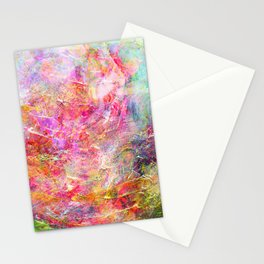 Serenity Abstract Painting Stationery Cards