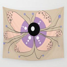 FLOWERY SELMA / ORIGINAL DANISH DESIGN bykazandholly Wall Tapestry