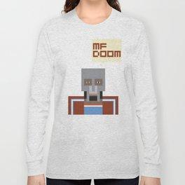 Metal Face Long Sleeve T-shirt