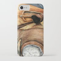 truck iPhone & iPod Cases featuring Old Truck by Kirsten Neil