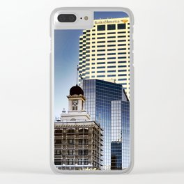 Uptown VI Clear iPhone Case