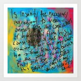 In Sanity Art Print