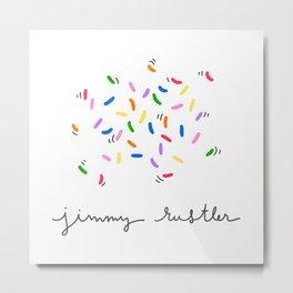 Jimmy Rustler Metal Print