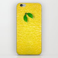 lemon iPhone & iPod Skins featuring Lemon by Diego Tirigall