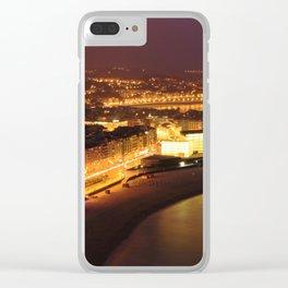 San Sebastian Panoramic view Clear iPhone Case