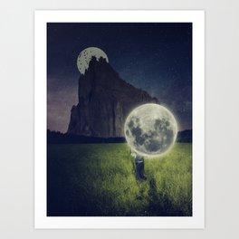 Moon Dealer Art Print