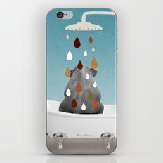 SHOWER CURTAIN iPhone & iPod Skin