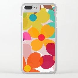 dogwood 11 Clear iPhone Case