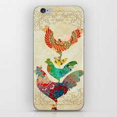 Chinese Lunar New Year and 12 animals  ❤  The ROOSTER 雞 iPhone Skin