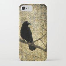 Crow Of Damask iPhone 7 Slim Case