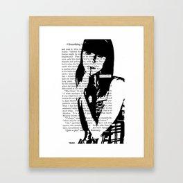 He Loved Her Framed Art Print