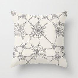 Spiderweb Pattern Throw Pillow