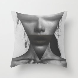 The dimension of her soul Throw Pillow