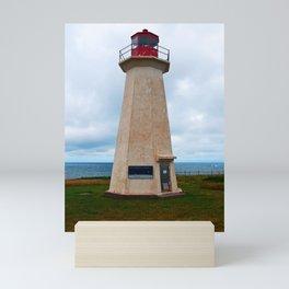 Shipwreck Point Lighthouse Mini Art Print