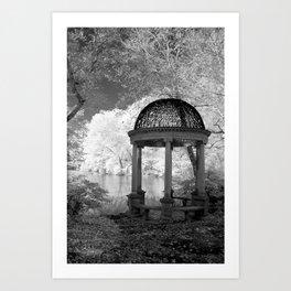 The Gazebo Art Print
