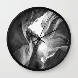 ANTELOPE CANYON III / Arizona Desert Wall Clock