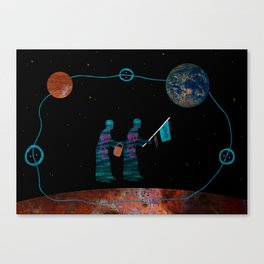 Our Grandmothers Carry Water from the Other World Canvas Print