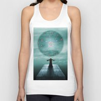 nordic Tank Tops featuring Nordic magician by Tony Vazquez